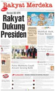 Rakyat Merdeka / 16 SEP 2019