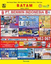 Cover Majalah Yellow Pages – Batam / 2013