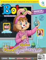 Cover Majalah Bobo ED 48 Maret 2019
