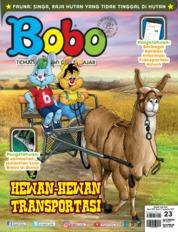 Cover Majalah Bobo ED 23 September 2019