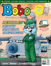Bobo Magazine Cover ED 32 November 2019