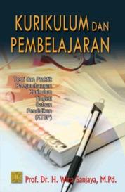 Cover Kurikulum Dan Pembelajaran (Teori & Praktek KTSP) oleh