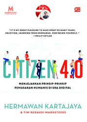 Citizen 4.0 by Hermawan Kartajaya Cover