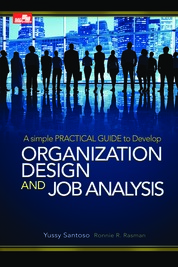 Cover Organization Design & Job Analysis Edisi Revisi oleh