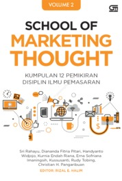 Cover School of Marketing Thought 2 oleh Sri Rahayu dkk