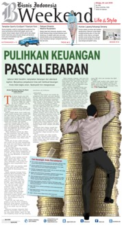 Cover Bisnis Indonesia / 24 JUN 2018