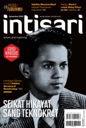 Intisari Magazine Cover ED 686 November 2019
