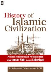 Cover History of Islamic Civilization oleh