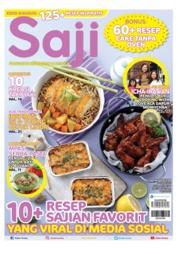 Cover Majalah Saji ED 433 Maret 2019