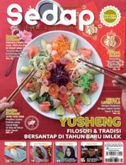 Cover Majalah Sedap ED 02 Februari 2019