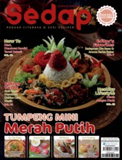Sedap Magazine Cover ED 08 August 2019