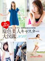 Cover Original Color Full Photobook Of Beautiful Newscasters 2018 cent.FORCE Perfect File [Free Sample] oleh