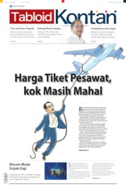 Cover Majalah Kontan ED 29 April 2019