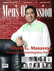 Men's Obsession / DEC 2012 Magazine Cover