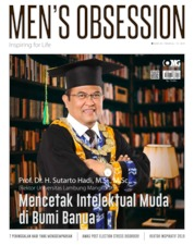 Cover Majalah Men's Obsession / MAY 2019
