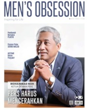 Cover Majalah Men's Obsession / JUN 2019
