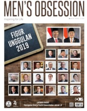 Men's Obsession / AUG 2019 Magazine Cover