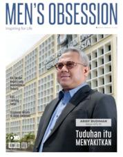 Cover Majalah Men's Obsession / SEP 2019