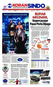 Koran Sindo / 24 APR 2018