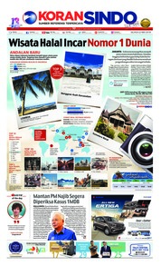 Koran Sindo / 22 MAY 2018