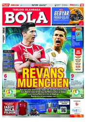 Tabloid Bola / ED 2864 APR 2018