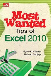 Cover Most Wanted Tips Of Excel 2010 oleh