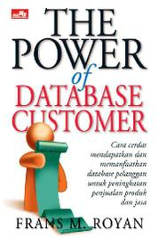 Cover The Power Of Database Customer oleh