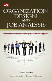 Cover Organization Design & Job Analysis oleh