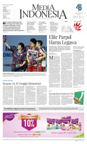 Media Indonesia / 09 JUL 2018