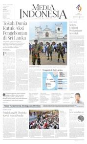 Media Indonesia / 22 APR 2019