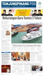 Cover Tanjungpinang Pos / 15 JUL 2019