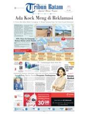 Cover Tribun Batam / 15 JUL 2019