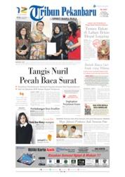 Cover Tribun Pekanbaru / 16 JUL 2019