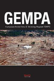 Cover Gempa, Kumpulan Artikel Ilmu dan Teknologi Majalah Tempo oleh