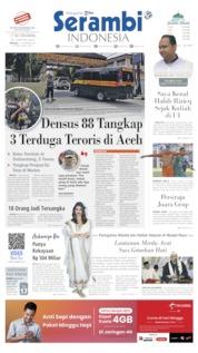 Cover Serambi Indonesia / 17 NOV 2019