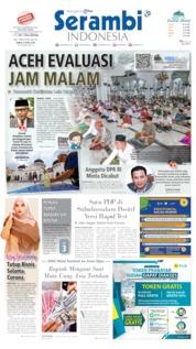 Serambi Indonesia / 04 APR 2020 Cover