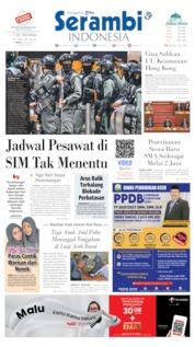 Cover Serambi Indonesia / 29 MAY 2020