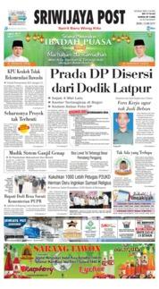 Sriwijaya Post / 13 MAY 2019