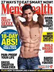 Cover Majalah Mens Health India / MAY 2014