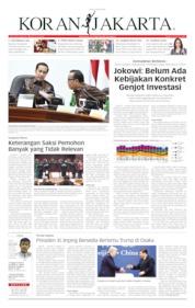 Koran Jakarta / 20 JUN 2019