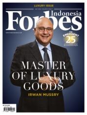 Cover Majalah Forbes Indonesia Juli 2018