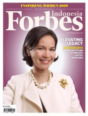 Cover Majalah Forbes Indonesia April 2019