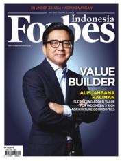 Cover Majalah Forbes Indonesia Mei 2019