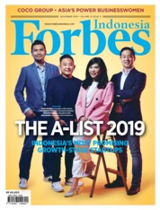 Forbes Indonesia Magazine Cover November 2019