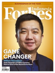 Forbes Indonesia Magazine Cover January 2020