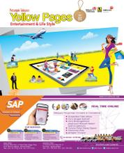 Cover Majalah Yellow Pages Jakarta Entertaiment & Life Style / 2015–2016