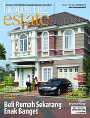 Cover Majalah housing estate / SEP 2018