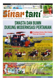 Cover Majalah Sinar tani ED 3795 April 2019