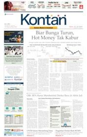 Koran Kontan Cover 22 July 2019