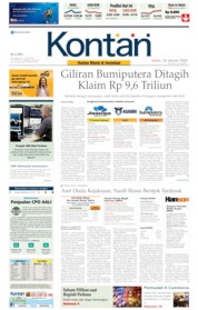 Koran Kontan / 20 JAN 2020